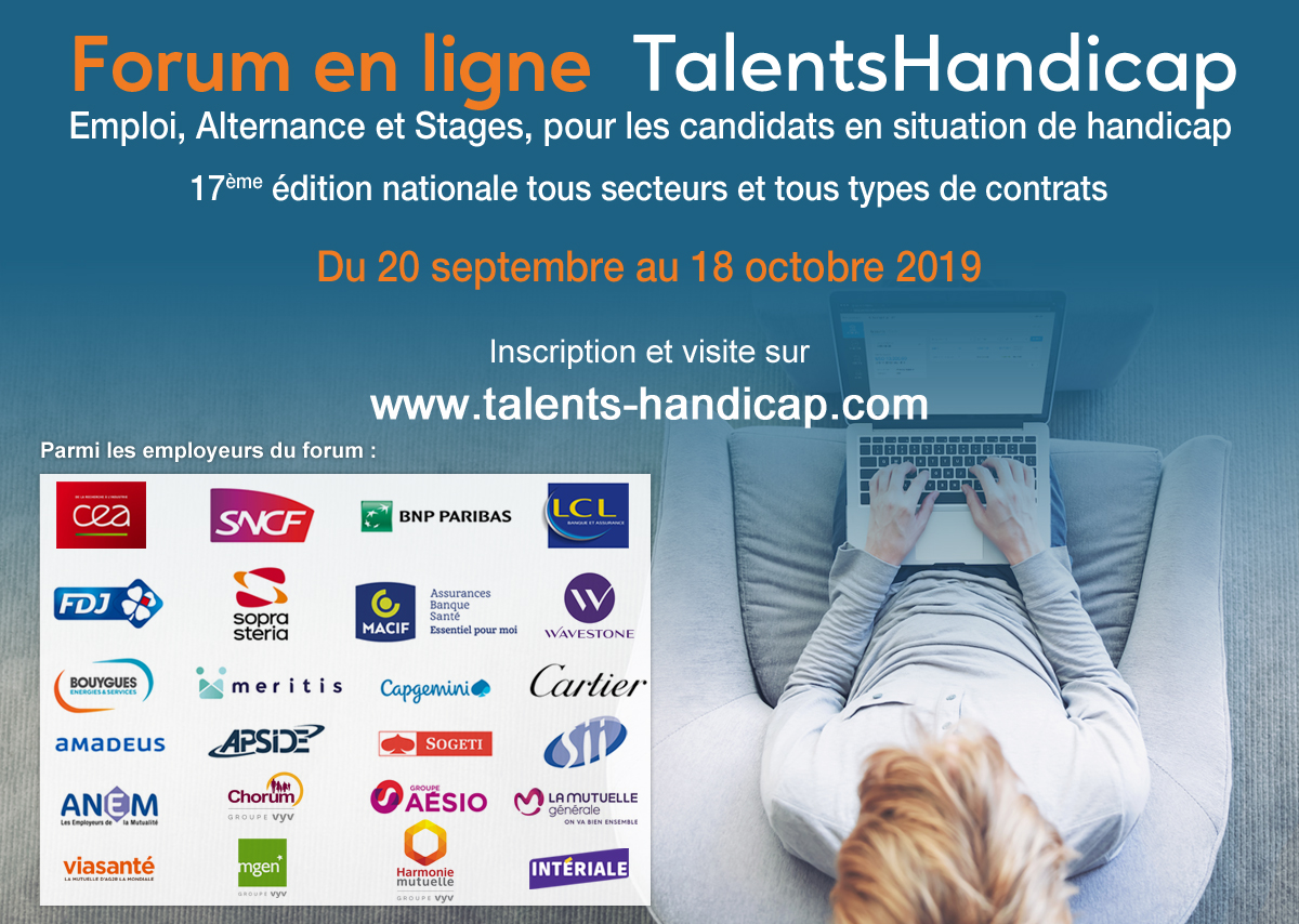 Forum Talents Handicap Septembre 2019